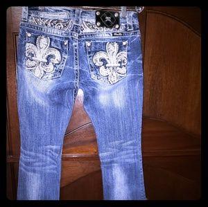 Miss Me Size 28/30 Slim boot cut Jean's